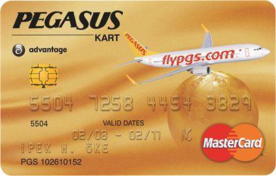 pegasus kart Pegasus Kart Alana Hediye Uçak Bileti